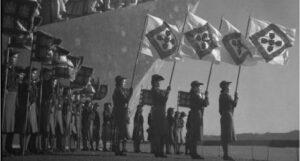 Bandera del Estado Novo salazarista