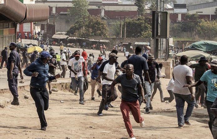 Eswatini represión África