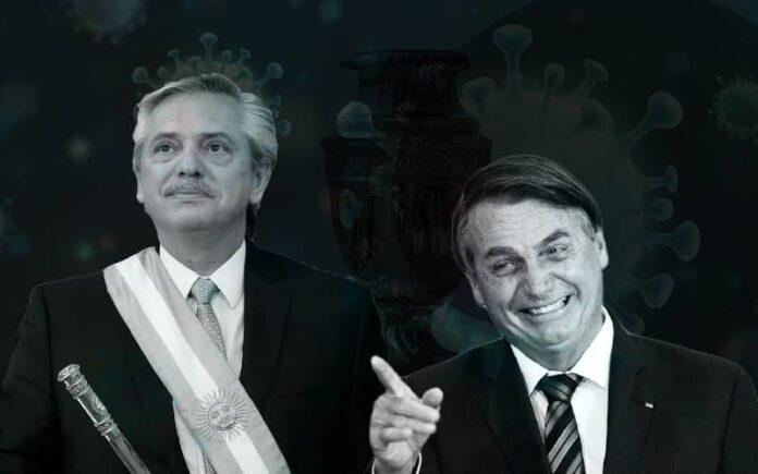 Copa América final pandemia