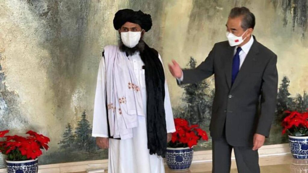China Afganistan talibanes